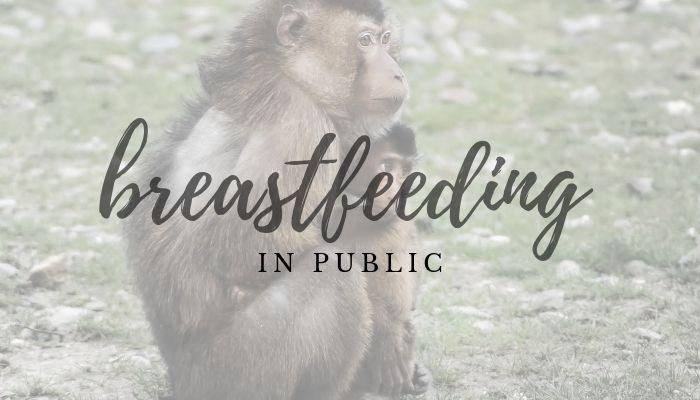 normalize breastfeeding in public